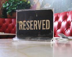 Restaurant Le Zinc - Antwerpen -  Menu